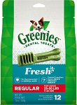 Greenies Mint Regular Treats 12oz