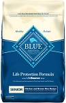 Blue Buffalo Senior Chicken and Brown Rice, 15lb