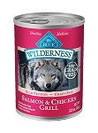 Blue Buffalo Wilderness Salmon & Chicken 12.5OZ 12 Count Case