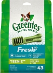 Greenies Mint Teenie Treats 12oz