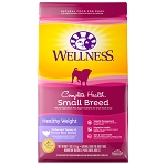 Wellness Small Breed Healthy Weight Deboned Turkey and Brown Rice Recipe, 4lb bag