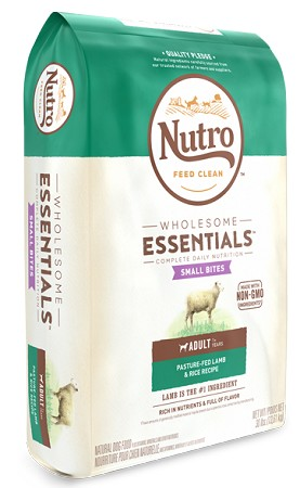 Nutro Wholesome Essentials Small Bite Lamb and Rice, 15lb Bag
