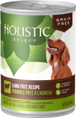 Holistic Select Grain Free Lamb Dog Can 13oz 12 Count Case