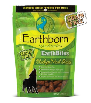 Earthborn EarthBites Chicken Treats 7.2oz