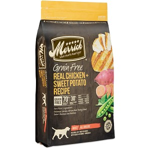 Merrick Grain Free Chicken & Sweet Potato 25lb