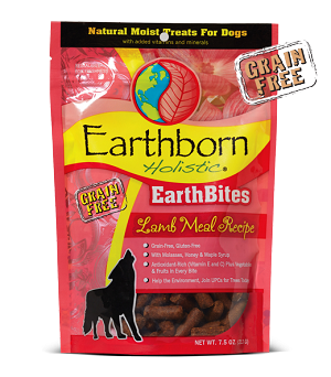Earthborn EarthBites Lamb Treats 7.2oz