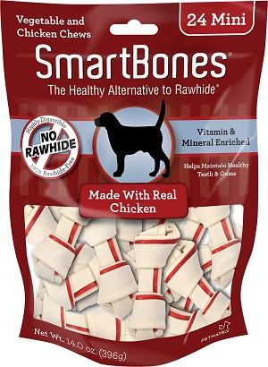 Smart Bone Chicken Mini, 24 Count Package