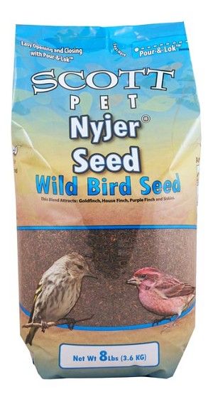 Scott Pet Nyjer Seed Polybag 8lb