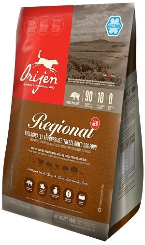 Orijen Regional Red Grain Free Dry Dog Food 45lb