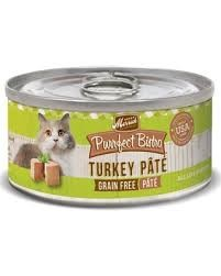 Merrick Turkey Pate Cat 5.5oz 24 Count Case