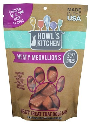 Howls Kitchen Meaty Medallions Chicken & Beef 12oz