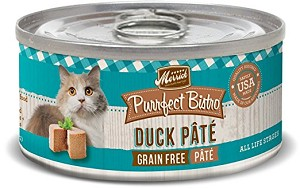 Merrick Duck Pate Cat 5.5oz 24 Count Case