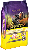 Zignature Grain Free Turkey Dry Dog Food 4lb