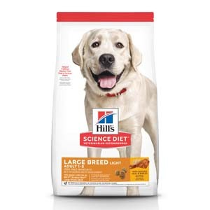 Science Diet Light Large Breed Adult 30lb