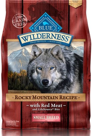 Blue Buffalo Wilderness Red meat Small Breed 4lb
