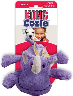 Kong Cozie Rosie Rhino Dog Toy Medium