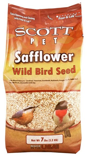 Scott Pet Safflower Polybag 7lb
