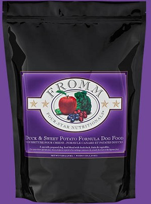 Fromm 4-Star Duck and Sweet Potato Dry Dog Food 30lb