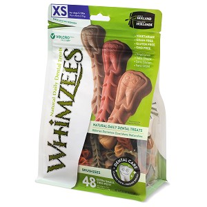 Whimzee Brushzees X-Small, 14.8oz Package
