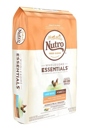 Nutro Wholesome Essentials Large Breed Adult Chicken, Brown Rice and Sweet Potato, 30lb bag