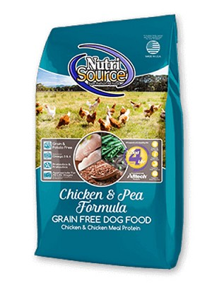 Nutri Source Grain Free Chicken Formula Dry Dog Food 30lb