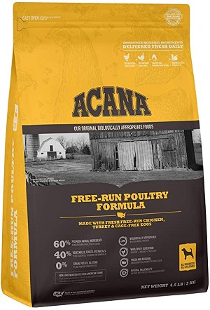 Acana Heritage Free-Run Poultry, 4.5lb bag