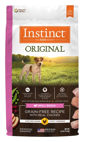 Instinct Original Grain Free Small Breed Chicken, 4lb