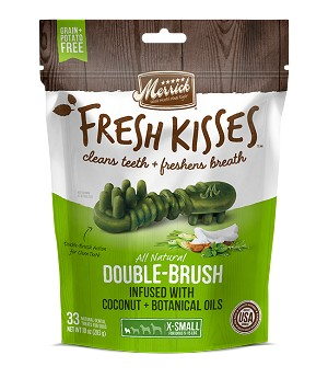 Merrick Fresh Kisses Coconut + Botanical Oils Extra Small, 10oz Package