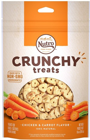 Nutro Crunchy Treats With Chicken and Carrot, 10oz
