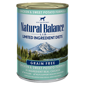 Natural Balance LID Chicken & Sweet Potato 13oz 12 Count Case