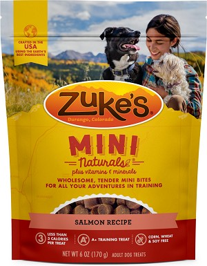 Zuke's Mini Naturals Salmon, 6oz Package