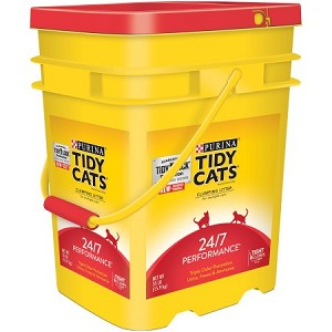 TIDY CATS PERFORMANCE 35LB PAIL
