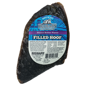 Redbarn Peanut Butter Filled Hoof