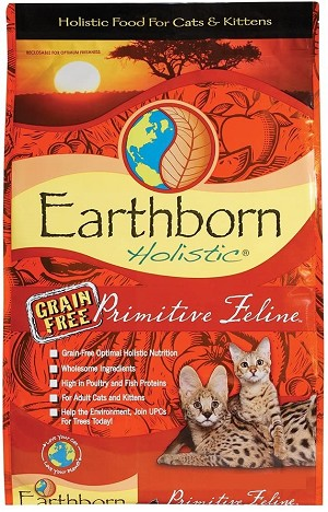 Earthborn Holistic Primitive Feline 6lb