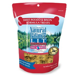 Natural Balance Limited Ingredient Small Breed Sweet Potato & Bison Dog Treats 8oz